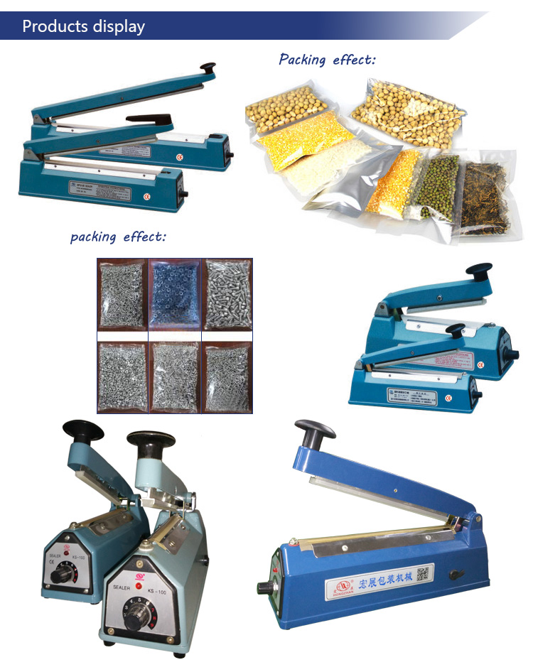 Mini Aluminum Foil Laminating Film Heat Sealing Machine Manufacturer Direct Sale Price for Flour and Candy