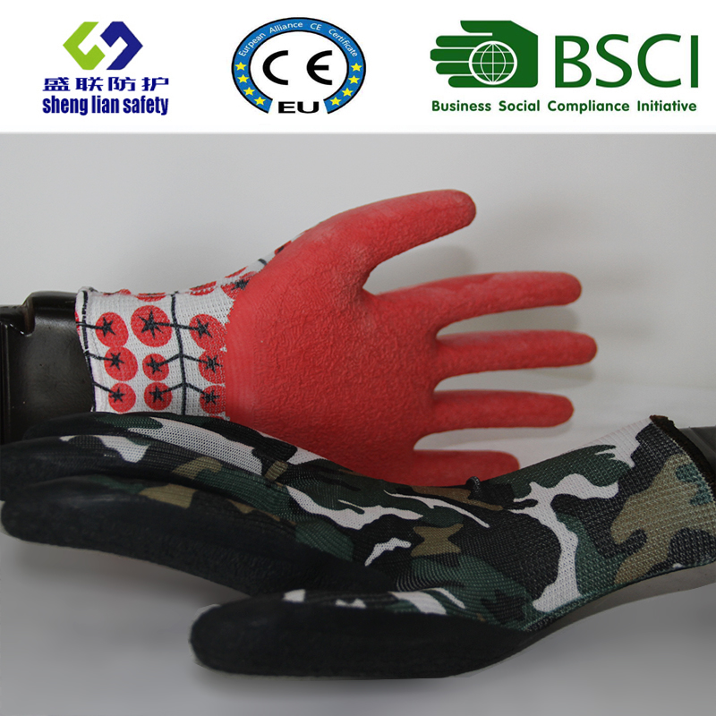Latex Garden Safety Work Gloves