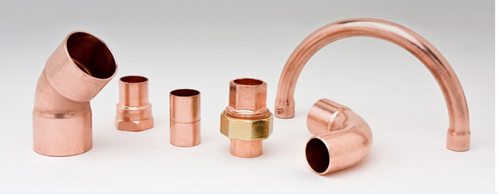 ACR Copper Pipe Fittings for Refrigeration and Air Conditioning