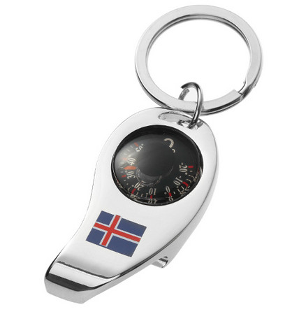 Promotion Gift Metal Engrave London Keychain Bottle Opener Souvenir (F5006)