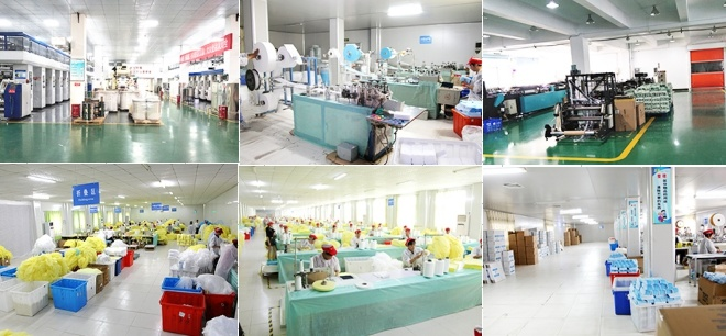 Industrial Powder Free Disposable Nitrile Gloves
