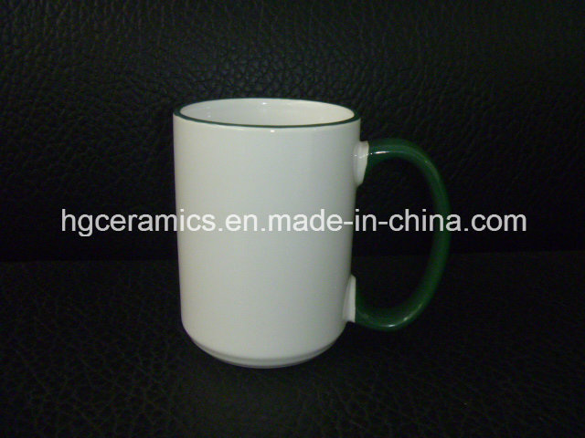 Photo Mug, 15oz Two Tone Sublimation Mugs