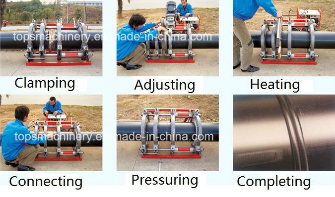 Hydraulic Butt Fusion Welding Machine for PE Tube