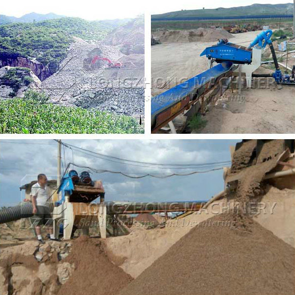 Silica Sand Processing Machine for Construction and Minery in Australia