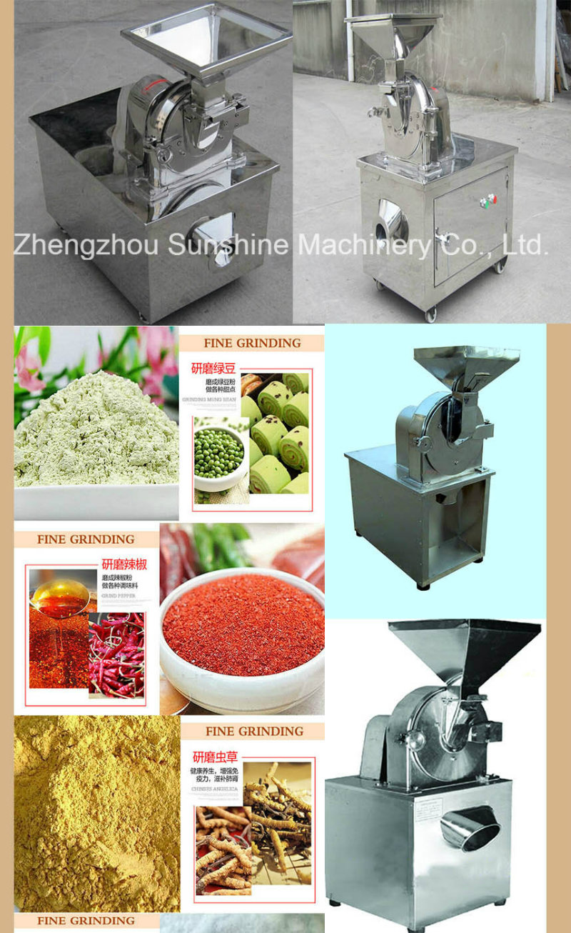 CE Quality Stainless Steel Soybean Grinder Herb Grinder