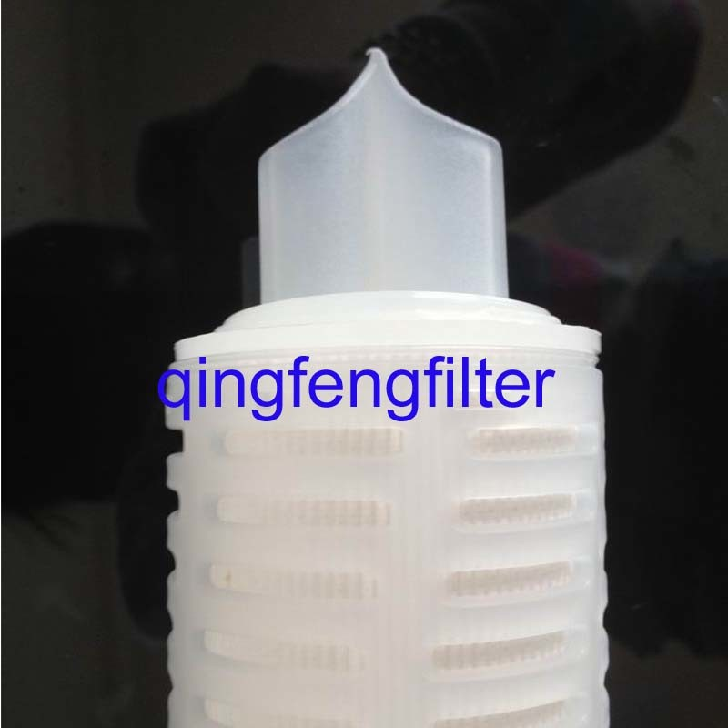 PP Pleated Filter Cartridge for Bottled Water, Pleated PP Filter Cartridge