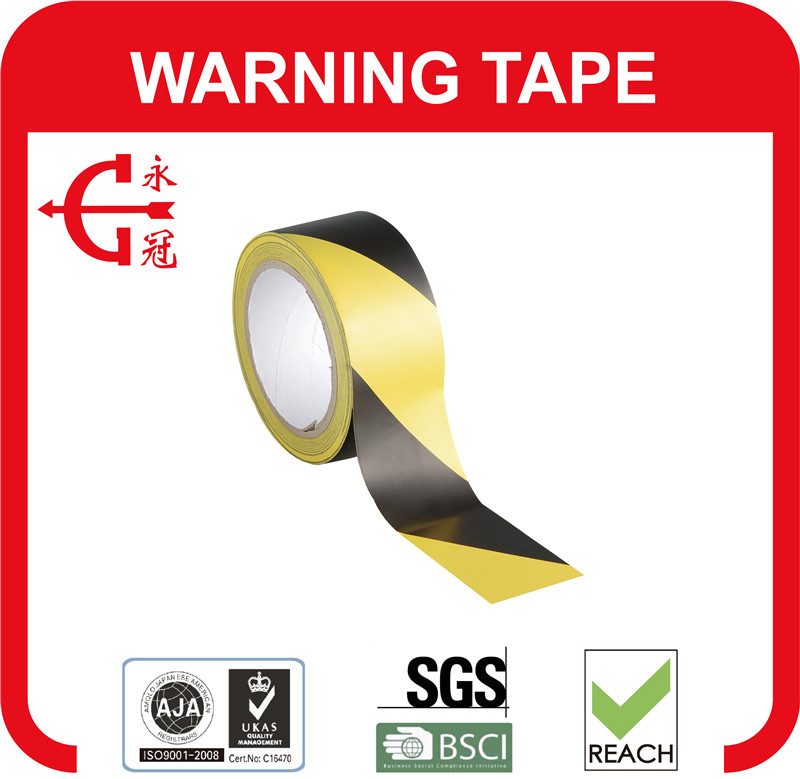 Marking Tapes Material for Signs PVC Warning Tapes