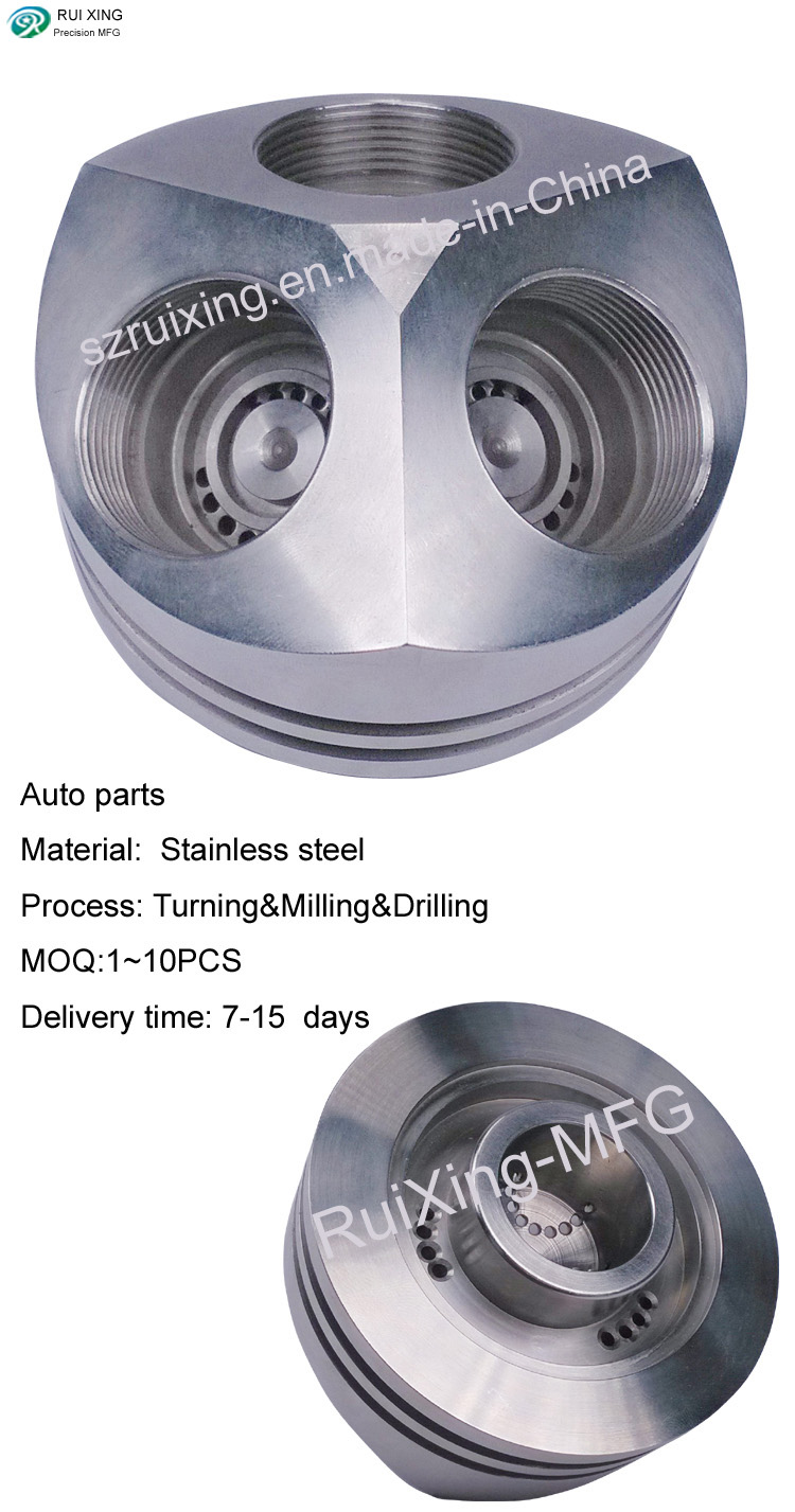 Custom Made Precision Part of Automobile Used