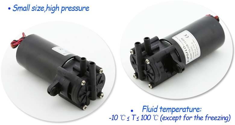 High Pressure Micro Oil Pump / DC Micro Gear Pump Tg-02