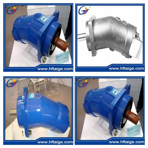 Piston Motor for Hydraulic Winch Application
