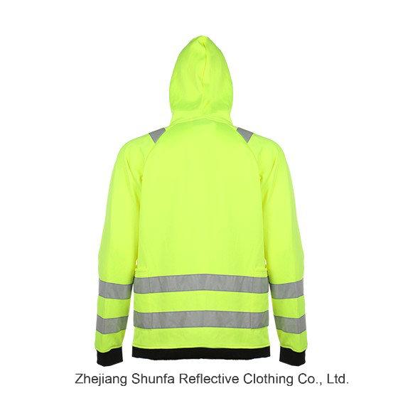 Sué Ter Encapuchado De Seguridad Safety Sweatshirt with En ISO 20471