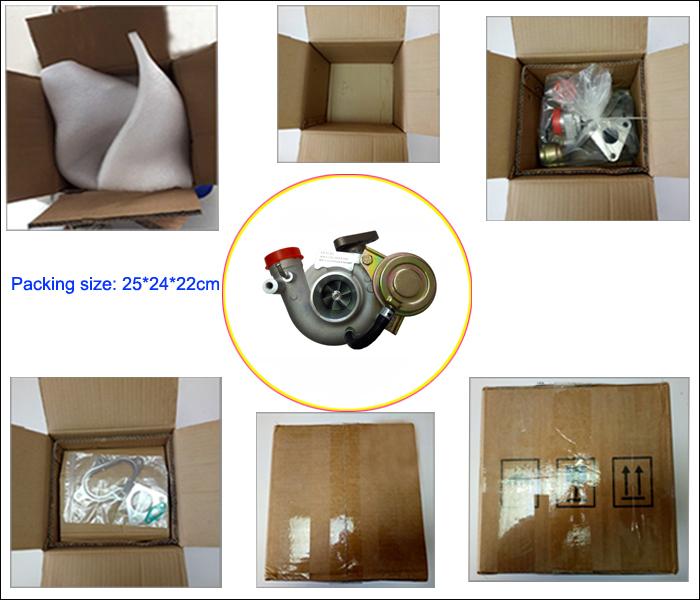 Vj33 Vj26 Wl84 Vc430089 Va430013 Turbo Charger for Mazda B2500