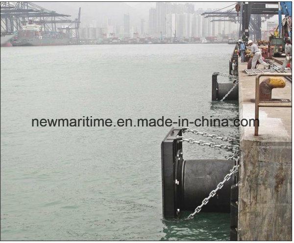 Natural Rubber Cylinder Rubber Fender for Dock/Ship