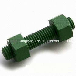 Teflon Hexagon Head Bolt and Nut