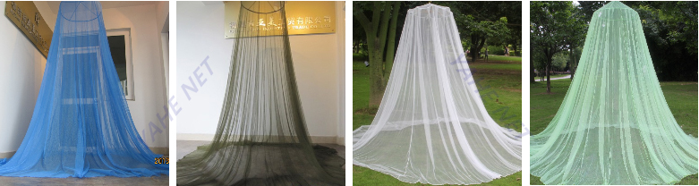 Prevention Zika Virus 100% Polyester Conical Mosquito Net