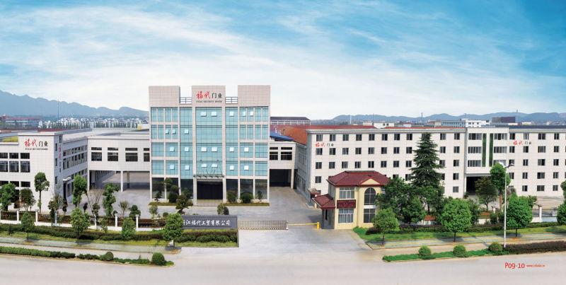 China Best Price with Tempered Glass Steel Door Exterior Door Security Door (FD-910)