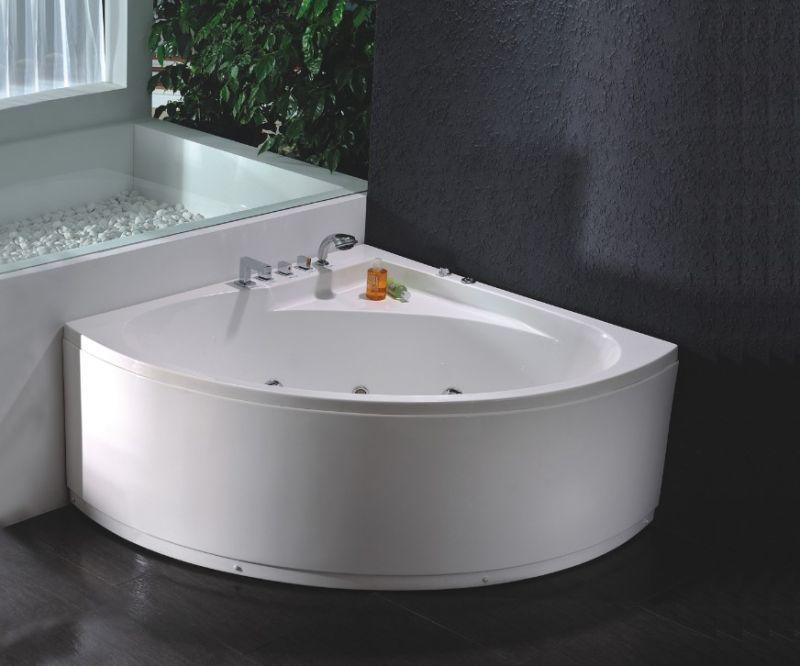2014 Luxury Corner Whirlpool Massage Bathtub (JL802)