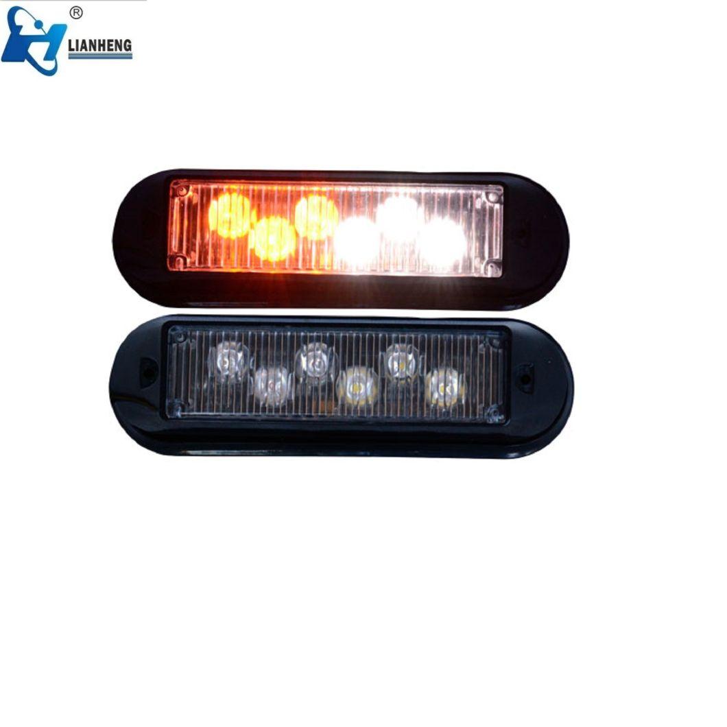 Factory Sale 6 LED Flash Warning Head Light