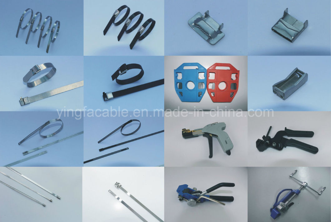 316 Stainless Steel Cable Marker for Cable Ties 19X89