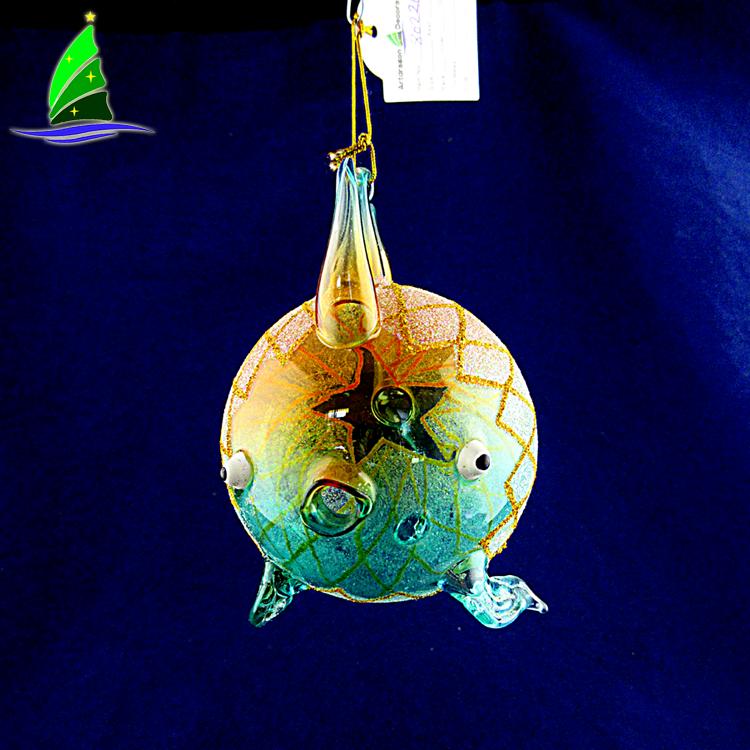 Glass Fish Decorations