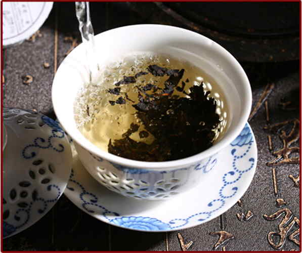 Swan Goose Tea Brick