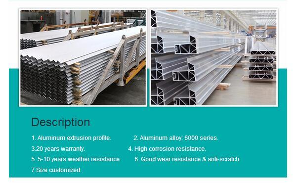 Industrial Aluminum Profile with Cheapest Aluminum Price