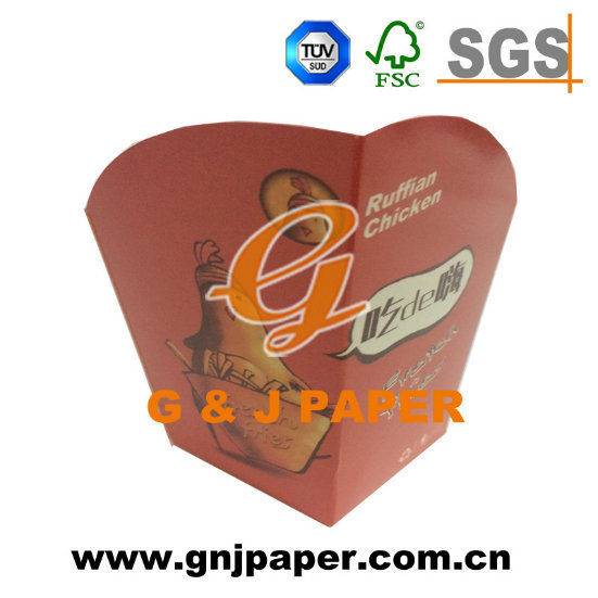 Disposable 16oz Two Sides PE Coated Tea Paper Cup