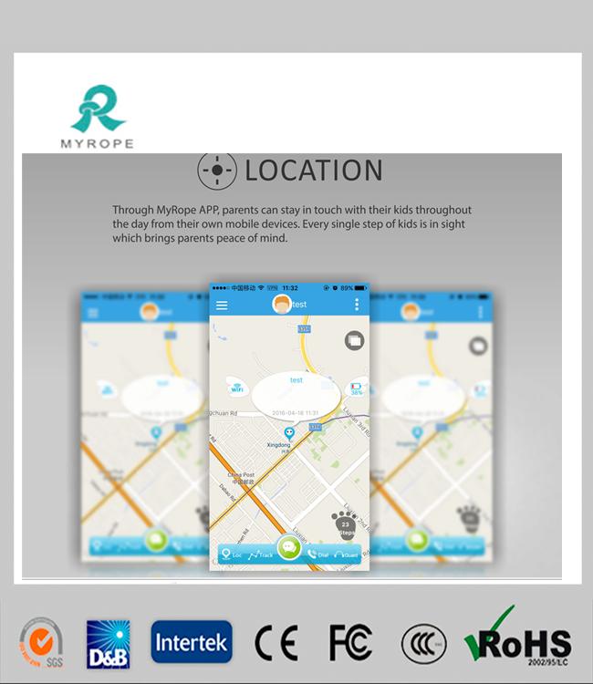 R13s Kids GPS Watch Sos Panic Button GPS Tracker