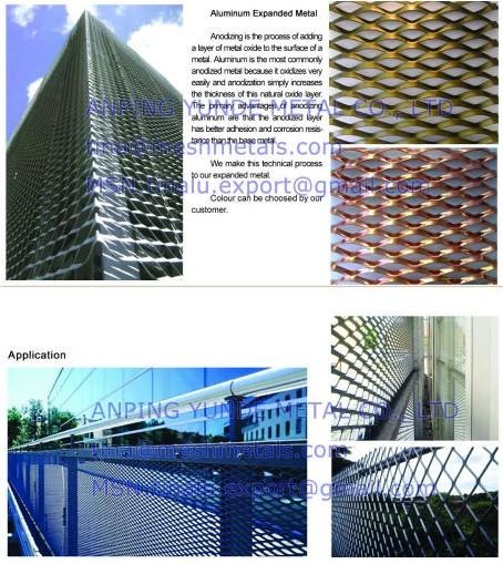 Expanded Sheet Building Facade