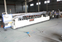 High-Speed (tri-servo) Tri-Sealing Zipper Vertical Bag Making Machine