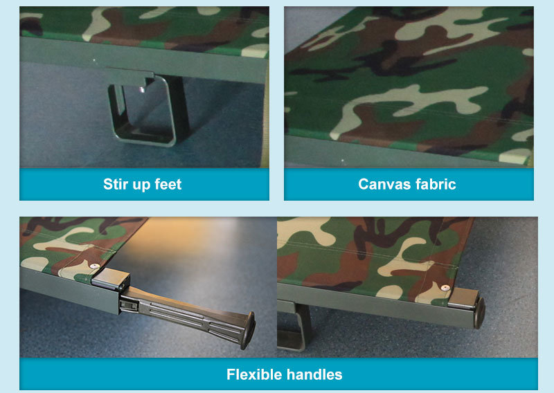 Portable Foldaway Patient Transfer Stretcher for Rescue Use
