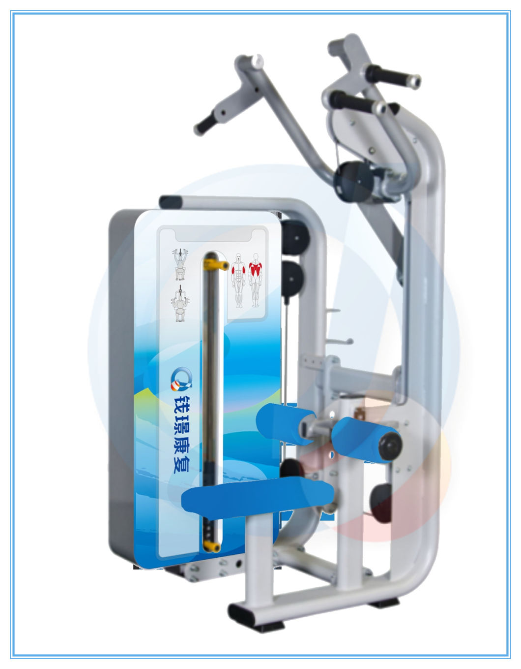 Aws109 Home Gym Rehabilitation Equipment Lat Pulldown Weight Machine