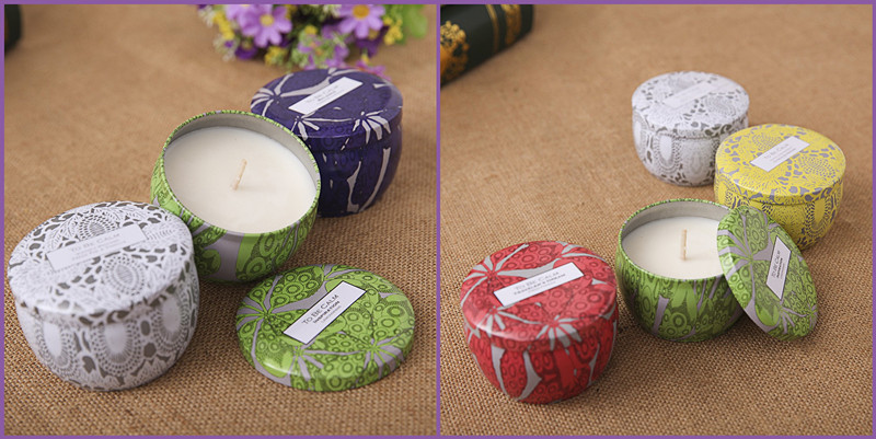 Gift Scented Handmade Soy Candle Set for Parties