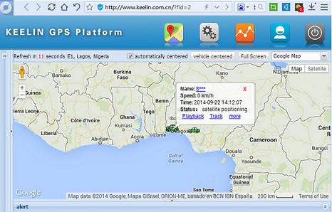 GPS GPRS WiFi Tracker (K30)