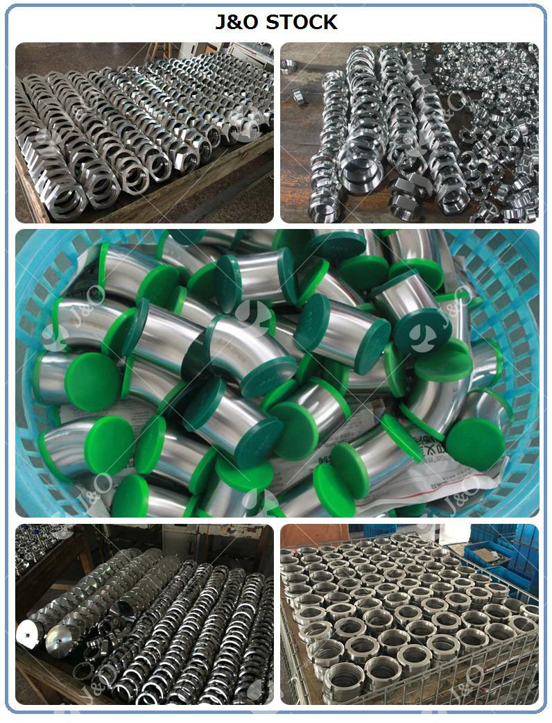 Sanitary Stainless Steel Pipe Fitting Matt Polish Customized Size Welded End Reducer
