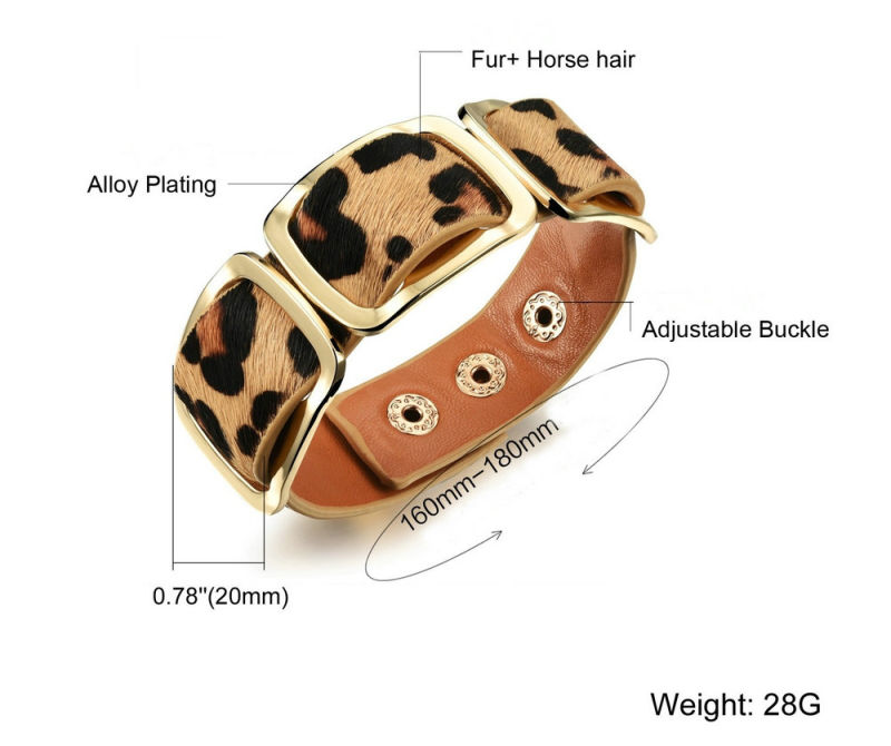 Stainless Steel Jewelry Leather Jewelry Leather Bracelet (LB288)