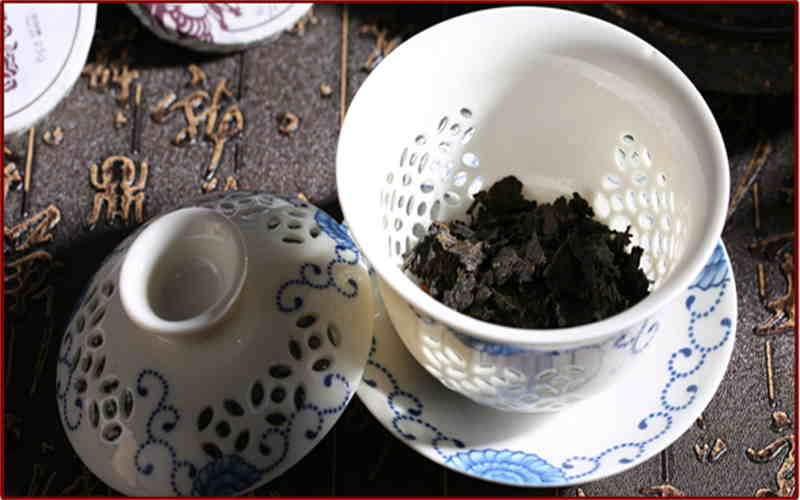 Chocolate Type Grade 4th Chin Brick Tea