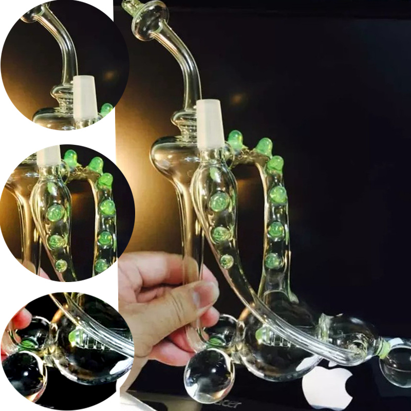 High Borosilicate Glass Water Pipes for Tobacco Smoking