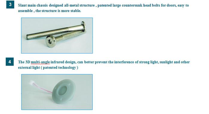 Super Sensitivity 24 Zones Banks Precision Detect Door Frame Metal Detector