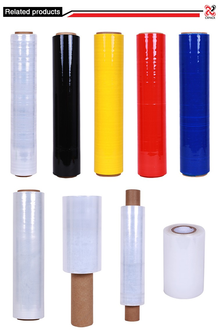 Plastic Stretch Film Roll
