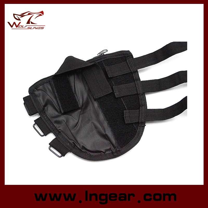 Airsoft Hunting Tactical Military Molle Shotgun Rifle Stock Ammo Pouch Holsters Bag Cheek Leather Pad Cp Black Od Tan Acu