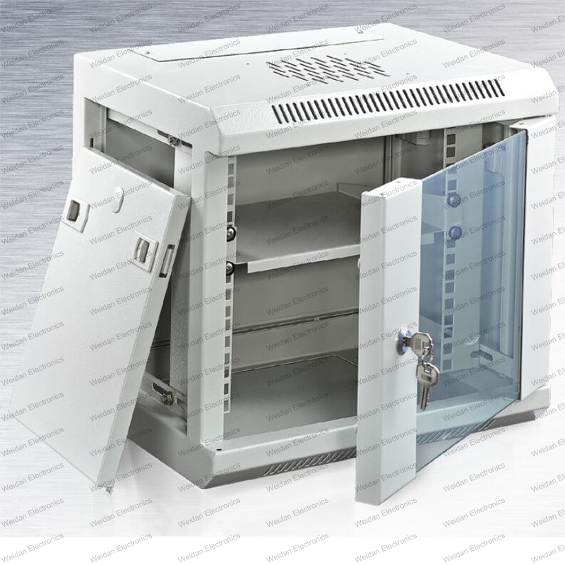 Gmc 4u-12u Metal Rack Enclosure Telecommunication&Broadcasting Wall Mounted Cabinets