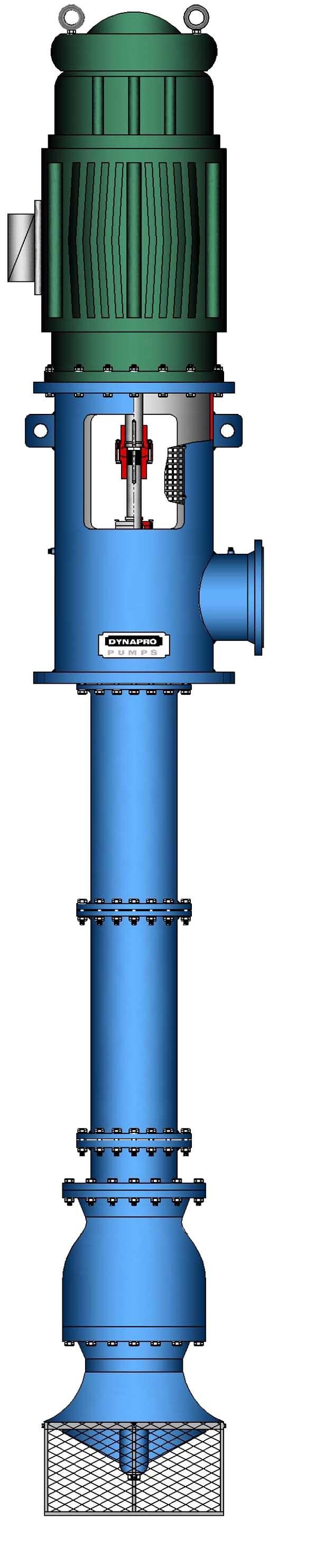 API610 (VS1) Vertical Line Shaft Multistage Process Pump (open sump)