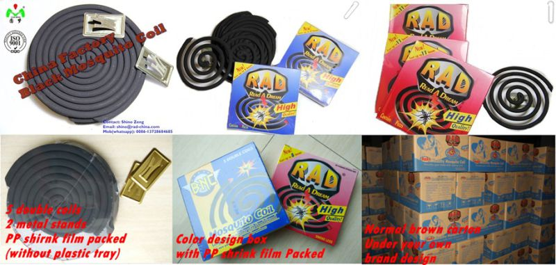 High Quality Cheap Price China Mosquito Coil Factory Wholesale Price for Pakistan Turkey Middle East