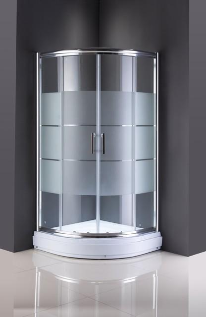 Simple Shower Room Glass Sliding Door