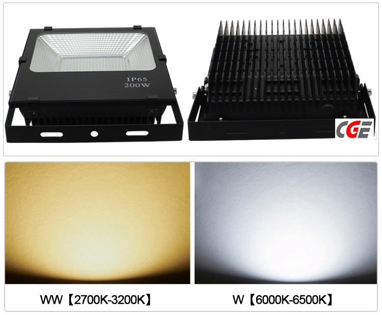 High Lumen CREE COB Waterproof Outdoor IP65 LED Flood Light 200W