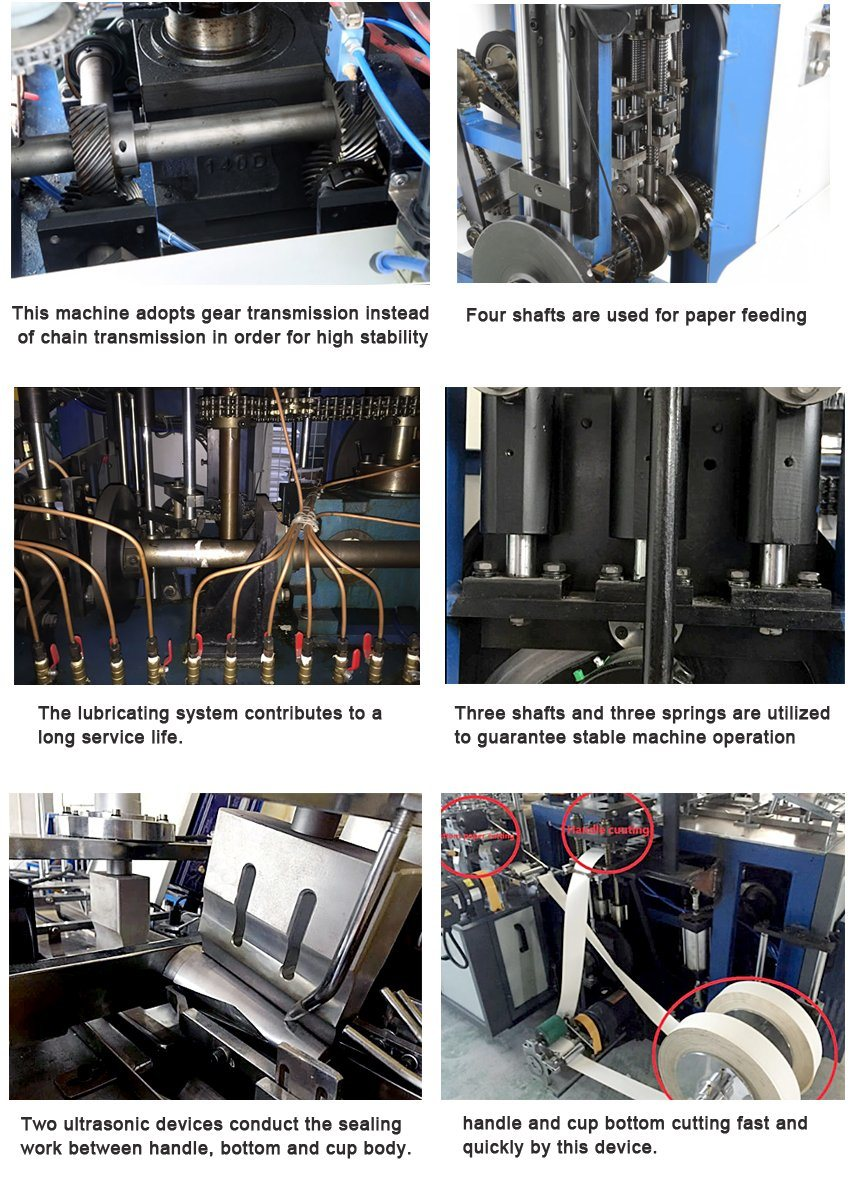 Disposable Double PE Coated Paper Cup Making Machine
