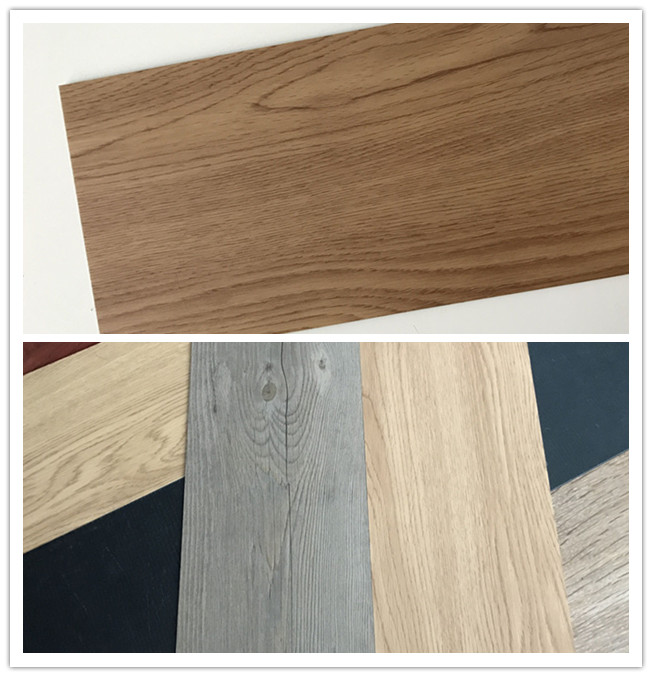 Deep Wood Emboss Pine Lvt Glue Down 2mm, 2.5mm, 3mm PVC Vinyl Floor