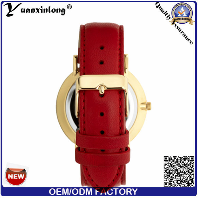 Yxl-061 Promotional Hot Sale Leather Watch Mens Vogue Japan Movemetn Fashion Wrist Watch Custom Design Men's Watch
