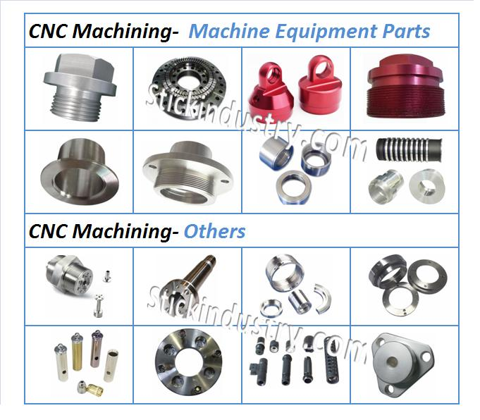 CNC Turing Light Holder, CNC Machined Lighting Part